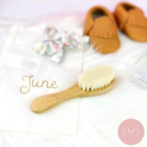 Brosse bébé personnalisable
