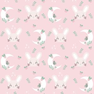 Lapin rose