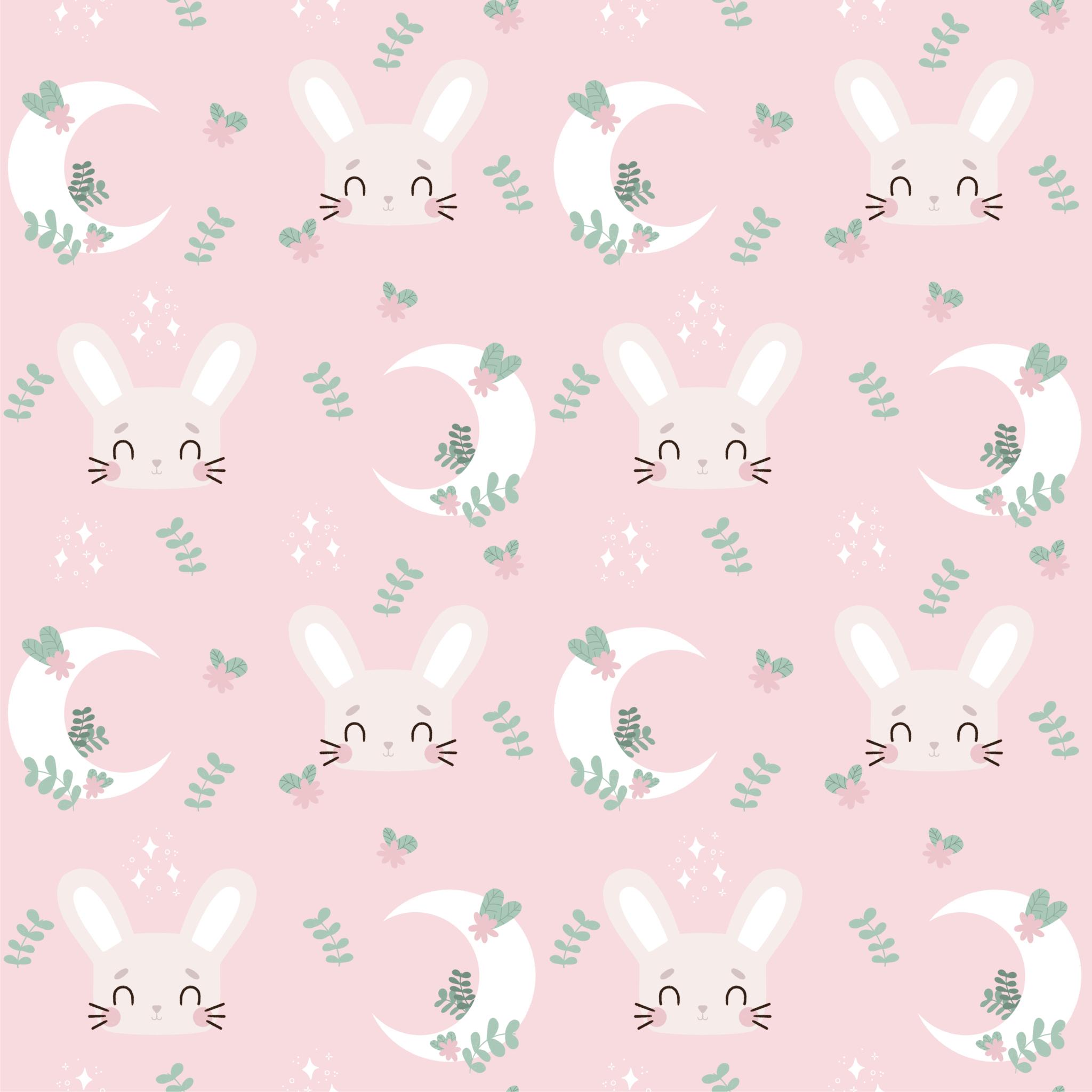 coton lapin rose