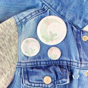 Badge lune